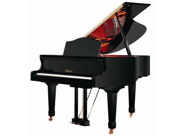 黑色墙纸钢琴素材
